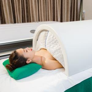 Incubate by Japanese whitening machine to stimulate the metabolism