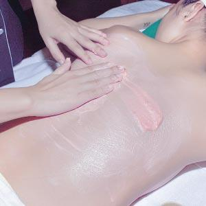 Massage with mixture of Micro C