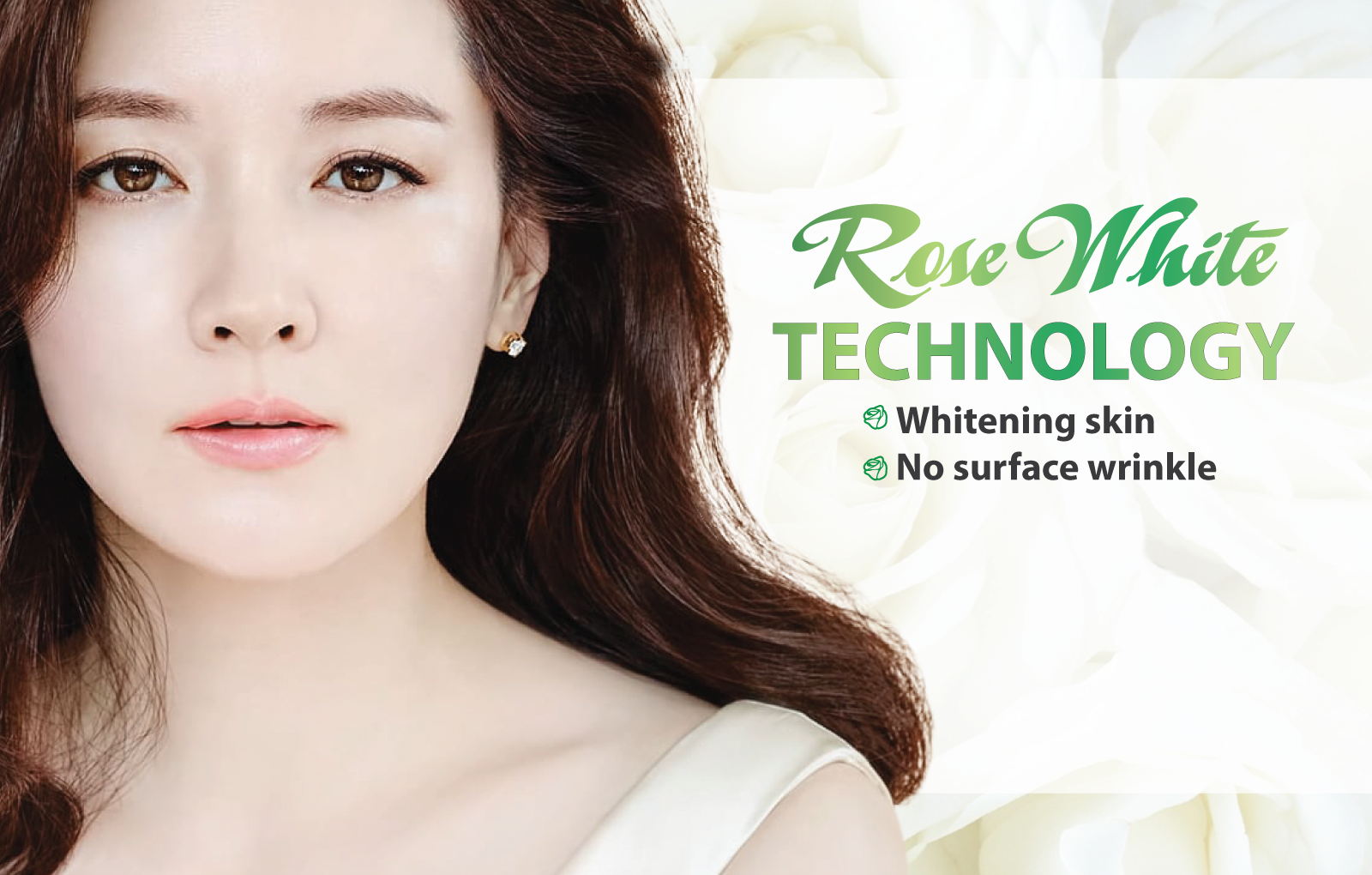 SKIN WHITENING AND REJUVENATING BY ROSE WHITE METHOD