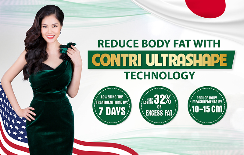 SLIMMING BY CONTRI ULTRASHAPE TECHNOLOGY