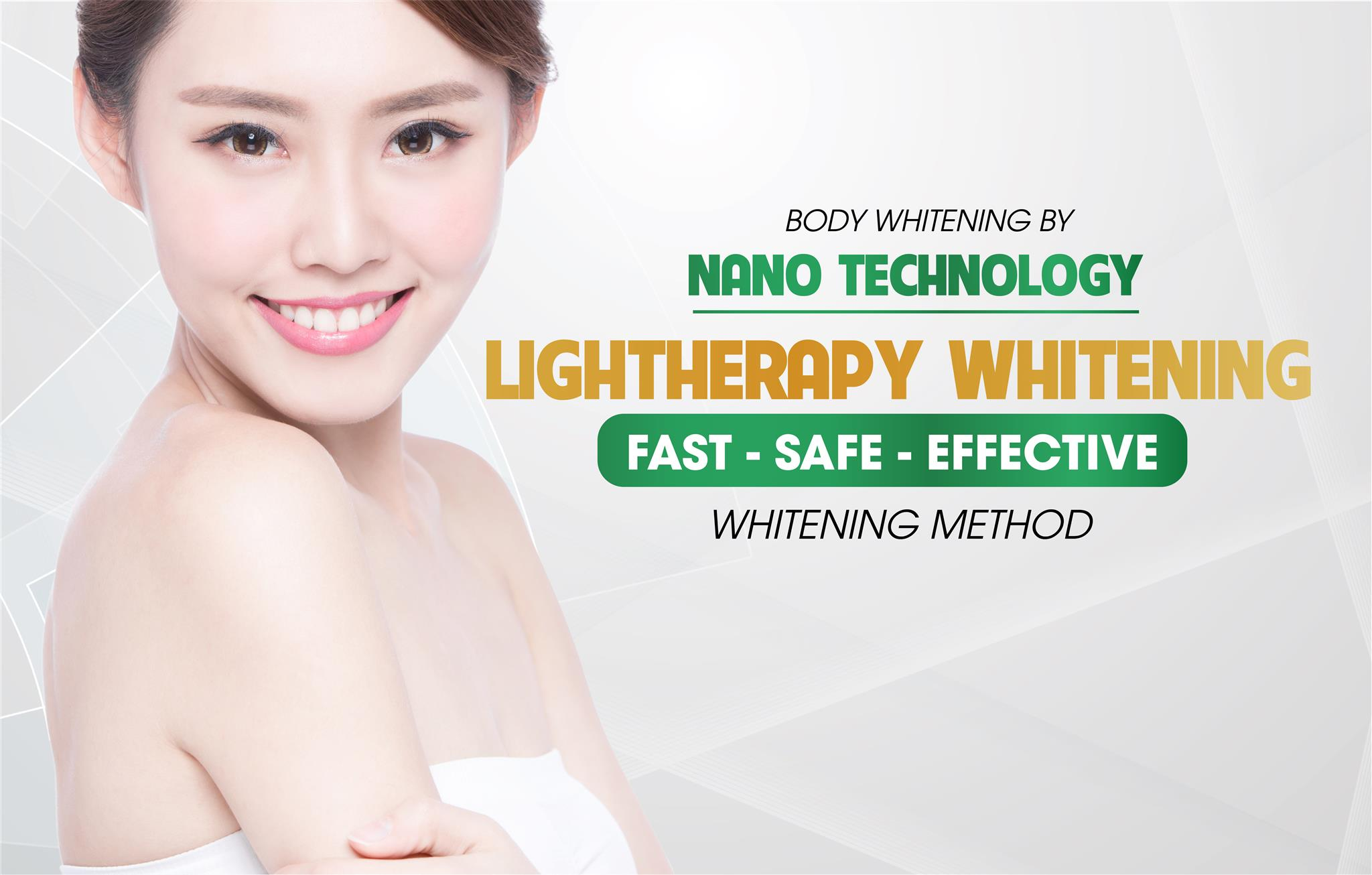 BODY WHITENING BY NANO TECHNOLOGY